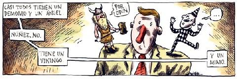Un vikingo un mimo